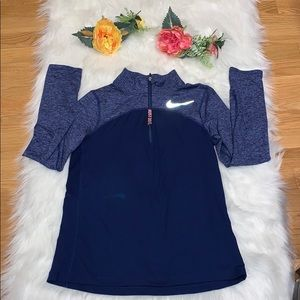 NIKE RUNNING ,DRI-FIT  for girl color blue size L.